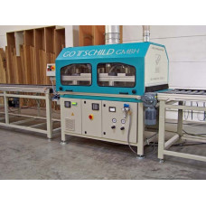 Brushing Machine / Buffing System for 3D-Furniture Components - Gottschild BSD 2000 - The Original