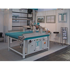 Polishing Buffing and Sanding Machine HBS 2000 for lacquered MDF High Gloss Panels and Corian®