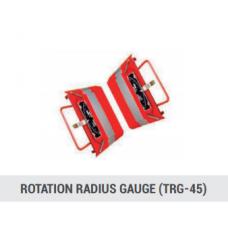 Rotation radius gauge TRG-45